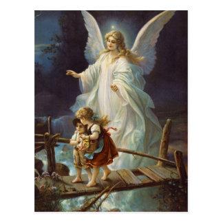 Vintage Guardian Angel Postcard