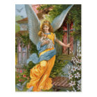 Vintage Guardian Angel with Baby Postcard
