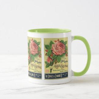 Vintage Guide to Rose Culture Book Cover Art, 1891 Mug