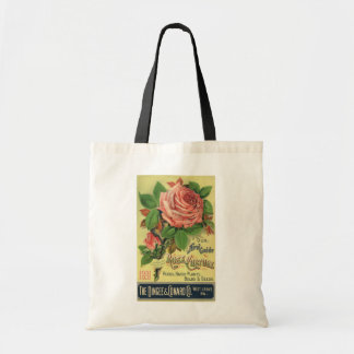 Vintage Guide to Rose Culture Book Cover Art, 1891 Tote Bag