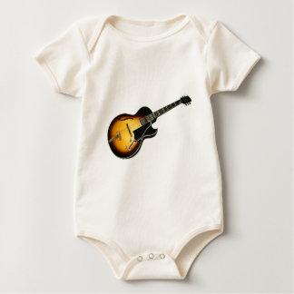 Vintage Guitar Baby Bodysuit