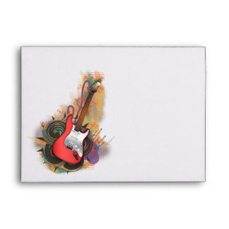 Vintage Guitar - custom background envelopes