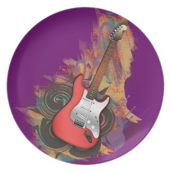 Vintage Guitar - custom background plates
