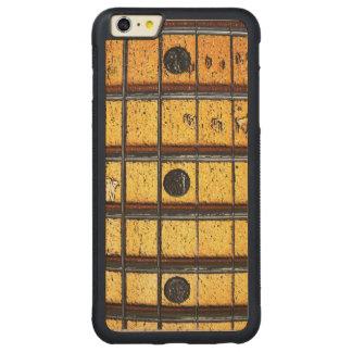Vintage Guitar Frets Carved Maple iPhone 6 Plus Bumper Case