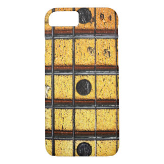 Vintage Guitar Frets iPhone 7 ID™ iPhone 7 Case