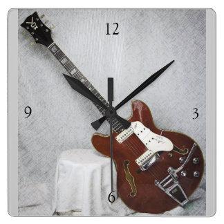 Musical Instruments Wall Clocks Zazzle