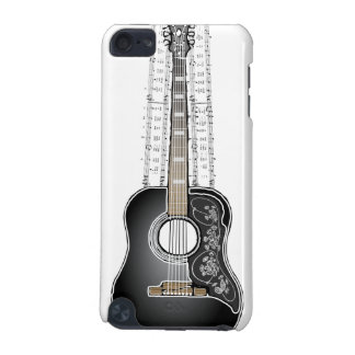 Vintage Guitar with Sheet Music  - iPod Touch Case