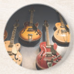 Vintage Guitars Beverage Coasters
