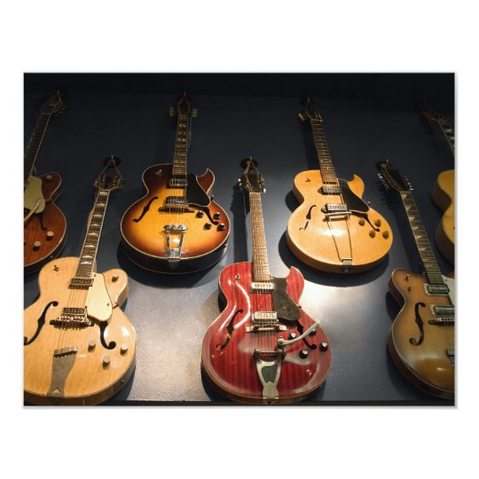 Vintage Guitars Card