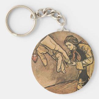 Vintage Gulliver's Travels by Arthur Rackham Keychain