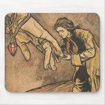 Vintage Gulliver's Travels by Arthur Rackham Mouse Pads