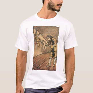Vintage Gulliver's Travels by Arthur Rackham T-Shirt