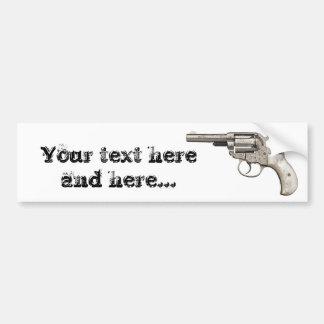 Vintage Gun Bumper Sticker