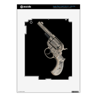 Vintage Gun Decals For iPad 3