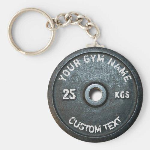 Vintage Gym Owner or User Fitness Funny Keychain