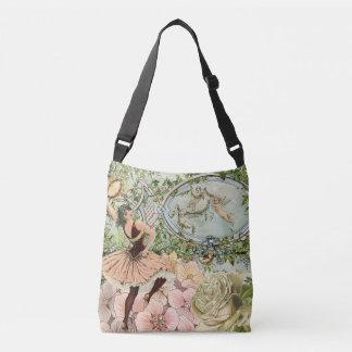 Vintage Gypsy Dancing Ephemera Crossbody Bag