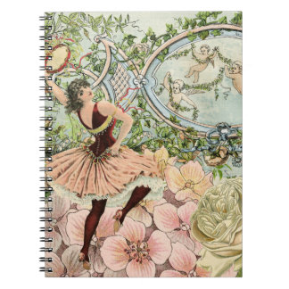 Vintage Gypsy Dancing Ephemera Notebook