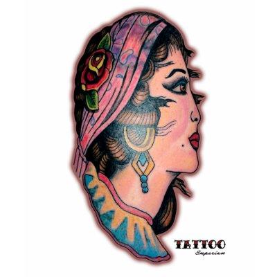 tattoo Gypsy Tattoo Shoe by CSound Vintage Gypsy Tattoo Tshirt byVintage Gypsy Tattoo