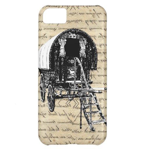 Vintage Gypsy wagon iPhone 5C Cover