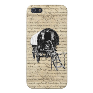 Vintage Gypsy wagon Case For iPhone SE/5/5s