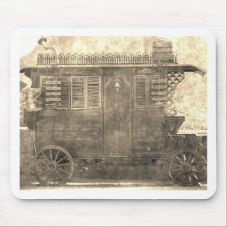 Vintage Gypsy Wagon Mouse Pad