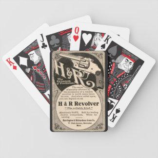 Vintage H&R Firearm Revolver Gun Playing Card Deck