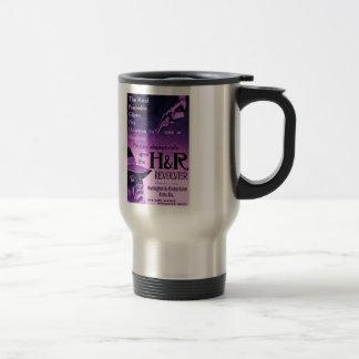 Vintage H&R Revolver Ad Purple Travel Coffee Mug