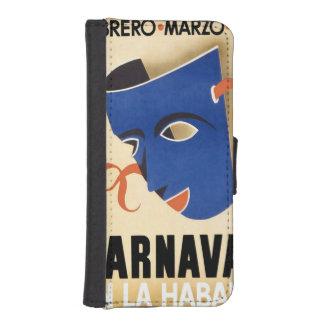 Vintage Habana Carnaval Poster iPhone SE/5/5s Wallet Case