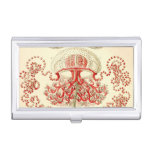 Vintage Haeckel Jellyfish Case For Business Cards