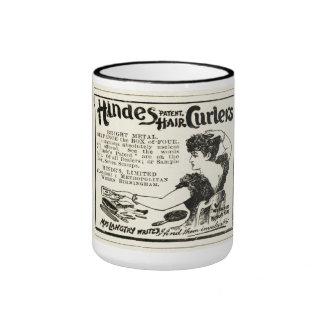 Vintage Hair Curlers Coffee Mug