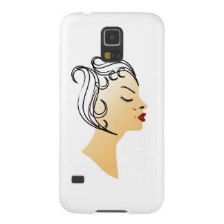 Vintage hairstyle galaxy s5 cover