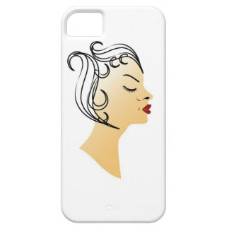 Vintage hairstyle iPhone SE/5/5s case