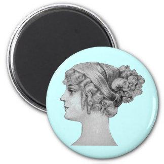 Vintage Hairstyle Magnet
