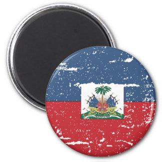 Vintage Haiti Flag Magnet