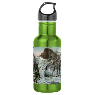 Vintage Half Dome Stainless Steel Water Bottle