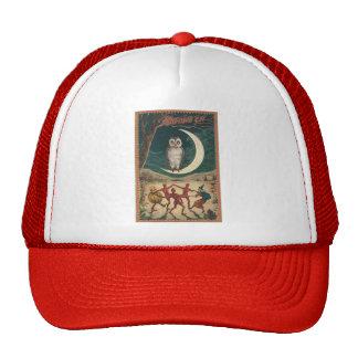 Vintage Halloween Art Trucker Hat