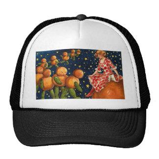 Vintage Halloween Art Hats