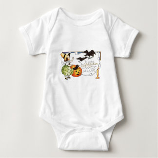 Vintage Halloween Baby Bodysuit