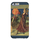 Vintage Halloween, Beautiful Dancing Witch Barely There iPhone 6 Case