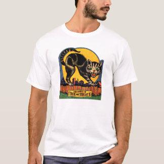 "Vintage Halloween Candy Label ""Trix or Treats"" T-Shirt"