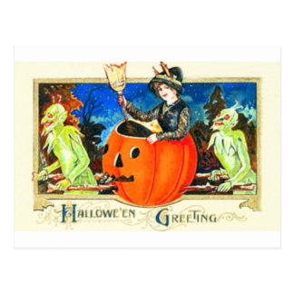 Vintage Halloween Card Style 0002