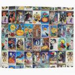"Vintage Halloween Carpeta 2"""