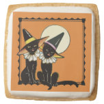 Vintage Halloween Cats Cookie