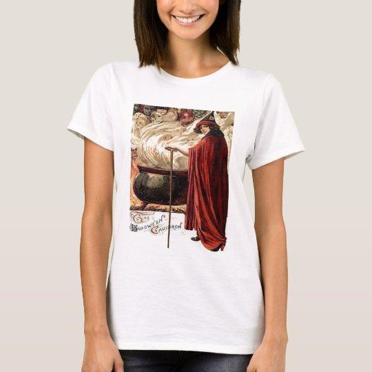 Vintage Halloween Cauldron Magic T-Shirt