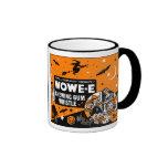 Vintage Halloween Chewing Gum Whistle Ringer Coffee Mug