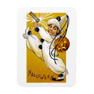 Vintage Halloween Clown Magnet