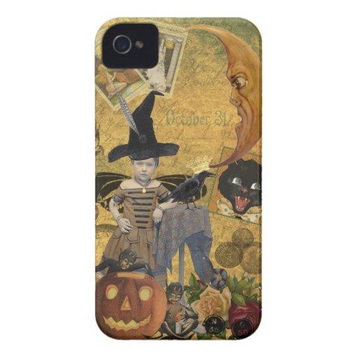 Vintage Halloween Collage Blackberry Bold Case