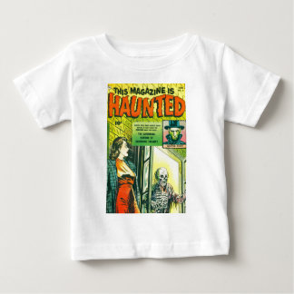 Vintage Halloween Comic Book Baby T-Shirt