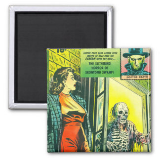 Vintage Halloween Comic Book Refrigerator Magnets