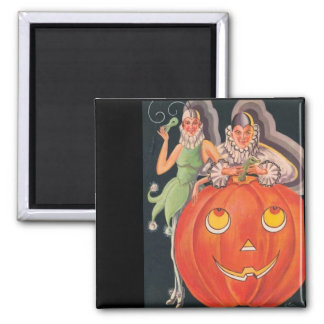 Vintage Halloween Costume Party Magnet